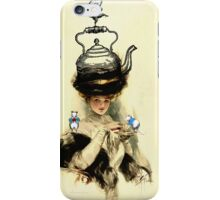 TeaTime at the Mouse Cafe iPhone Case/Skin