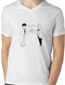 Bros 4 Life Mens V-Neck T-Shirt