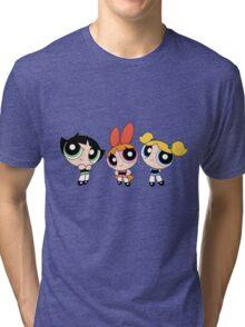 Powerpuff Girls Tri-blend T-Shirt
