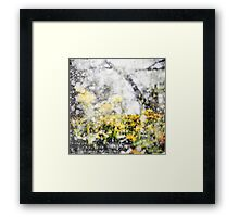 Through the Snow Barefoot Framed Print