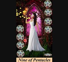 NINE OF PENTACLES Womens Fitted T-Shirt
