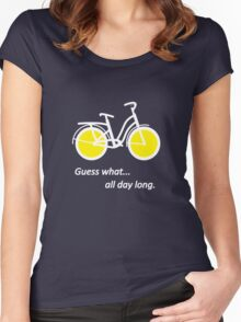 Bicycle W Women's Fitted Scoop T-Shirt