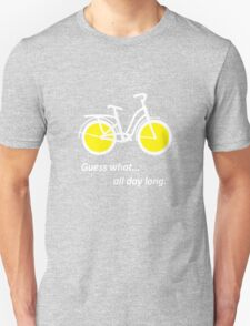 Bicycle W Unisex T-Shirt
