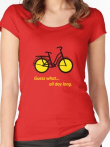 Bicycle B Women's Fitted Scoop T-Shirt