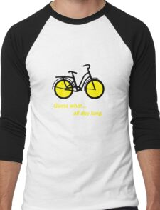 Bicycle B Men's Baseball ¾ T-Shirt