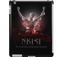 Nkisi (The Congo Spirits) iPad Case/Skin