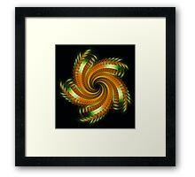 Ribbon Spin Framed Print