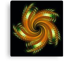 Ribbon Spin Canvas Print