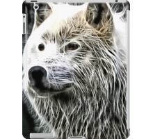 Wilde nature - white wolf iPad Case/Skin