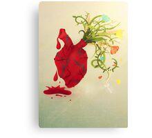 A Heart Dichotomy Canvas Print