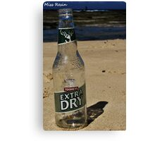 Commercial Litter Canvas Print