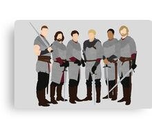 The Knights of Camelot, Merlin Canvas Print