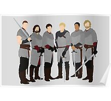 The Knights of Camelot, Merlin Poster
