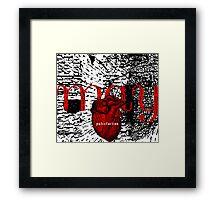 may = putrefaction Framed Print
