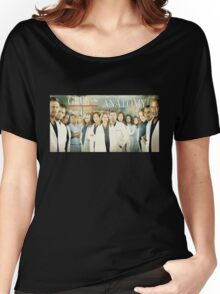 Grey's Anatomy-Cast Women's Relaxed Fit T-Shirt