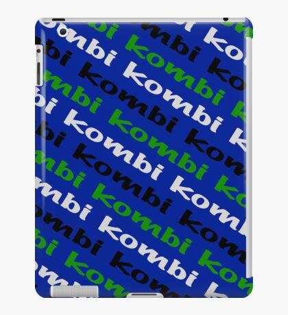 VW iPad case - Kombi Kombi Kombi - Blue iPad Case/Skin