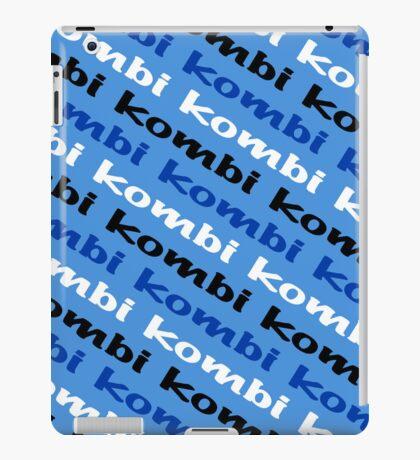 VW iPad case - Kombi Kombi Kombi - Pale Blue iPad Case/Skin