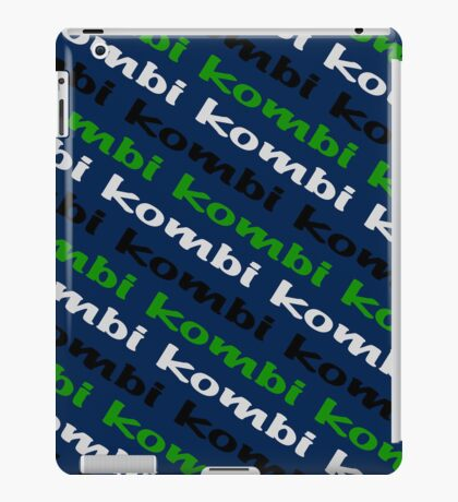 VW iPad case - Kombi Kombi Kombi - Navy Blue iPad Case/Skin