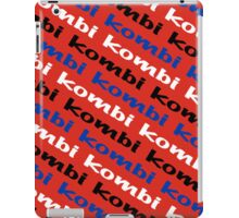 VW iPad case - Kombi Kombi Kombi - RED iPad Case/Skin
