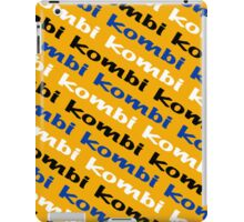 VW iPad case - Kombi Kombi Kombi - Yellow iPad Case/Skin