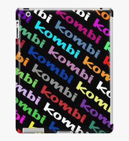 VW iPad case - Kombi Kombi Kombi - on Black iPad Case/Skin