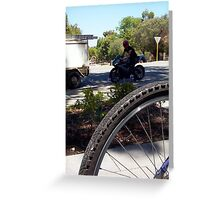 Motorbike 15 11 12 Greeting Card