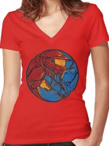 The Tao of RvB Women's Fitted V-Neck T-Shirt
