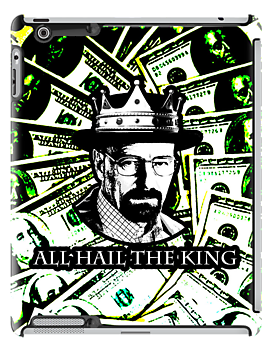 All Hail King Walter White [ black and white version ] by picky62version2