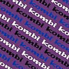 VW iPad case - Kombi Kombi Kombi - Purple by melodyart