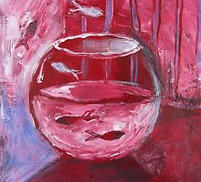 Fishbowl Red by Thea T