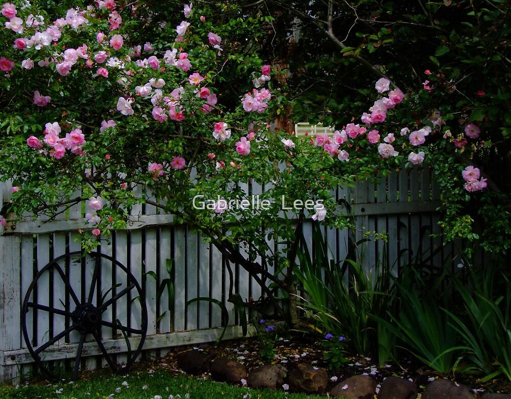 Rosalee Cottage Garden by Gabrielle  Lees