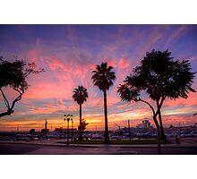 The Salmon Pink Sunset Photographic Print