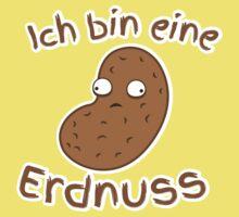 Ich bin eine Erdnuss (I'm a peanut in GERMAN) One Piece - Short Sleeve