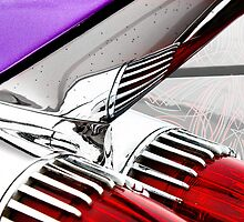 Cadillac Fins Wall Art by HoskingInd