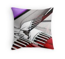 Cadillac Fins Wall Art Throw Pillow