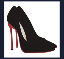 red heels black shoes Kids Clothes