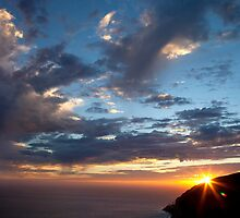PCH Sunset by Mitchel Whitehead