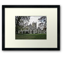 Lyndhurst Castle Framed Print