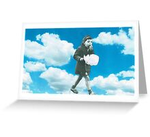 Cloud munching  Greeting Card