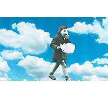 Cloud munching  Photographic Print