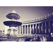 Rome I. Vatican fountain.  Photographic Print