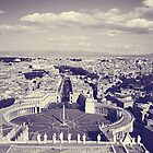 Rome IV. View from above.  by sylvianik