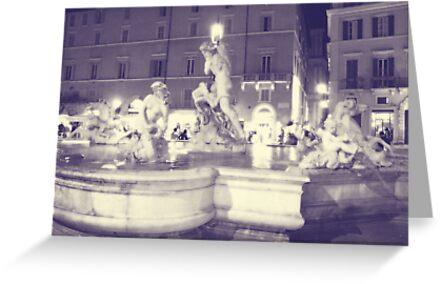 Rome V. Navona.  by sylvianik
