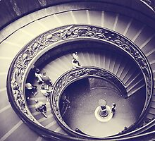 Rome VII. Vatican stairs.  by sylvianik