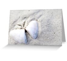 Butterfly Shell Greeting Card