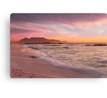 Beautiful Cape Town Canvas Print