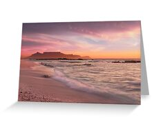 Beautiful Cape Town Greeting Card