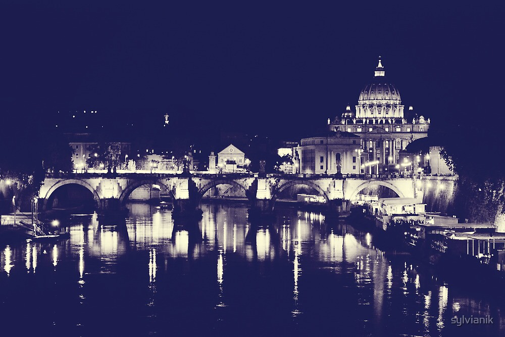 Rome XI. Vatican by night.  by sylvianik