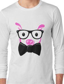 GEEK Pig Long Sleeve T-Shirt