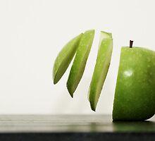 Sliced Apple by CollinScott